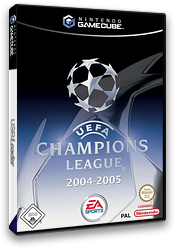 UEFA Champions League 2004-2005 GameCube cover (GUCD69)