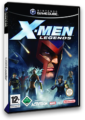 X-Men Legends GameCube cover (GXLX52)