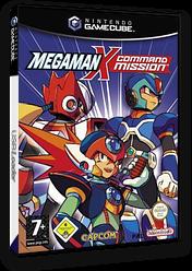 Mega Man X: Command Mission GameCube cover (GXRP08)