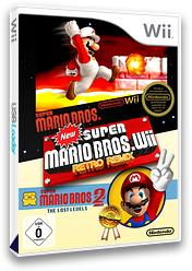 New Super Mario Bros. Wii Retro Remix CUSTOM cover (MRRP01)