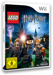LEGO Harry Potter: Die Jahre 1-4 Wii cover (R25PWR)