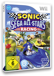 Sonic & SEGA All-Stars Racing Wii cover (R3RP8P)