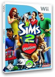 Die Sims 2: Haustiere Wii cover (R4PP69)