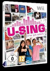 U-Sing Wii cover (R58SMR)