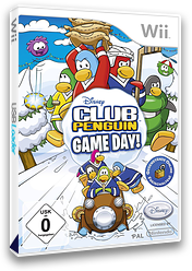 Club Penguin: Game Day! Wii cover (R59P4Q)