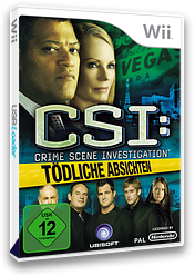 CSI: Tödliche Absichten Wii cover (R5UP41)