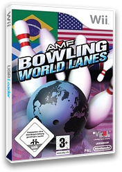 AMF Bowling: World Lanes Wii cover (R6WP68)