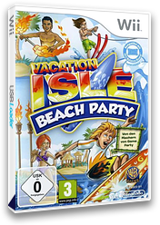 Vacation Isle: Beach Party Wii cover (R7VPWR)