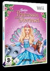 Barbie als Prinzessin der Tierinsel Wii cover (RBVP52)