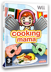 Cooking Mama 1 Wii cover (RCCPGT)
