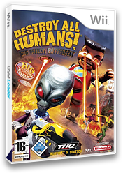 Destroy All Humans! Big Willy: Entfesselt Wii cover (RDHP78)