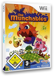 The Munchables Wii cover (RE5PAF)