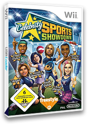 Celebrity Sports Showdown Wii cover (REAP69)