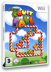 Super Fruit Fall Wii cover (RF4P6M)