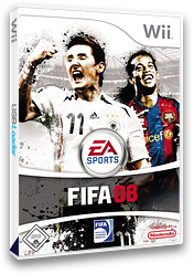 FIFA 08 Wii cover (RF8P69)