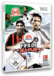 FIFA 09 All-Play Wii cover (RF9X69)