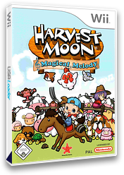 Harvest Moon: Magical Melody Wii cover (RHMP99)