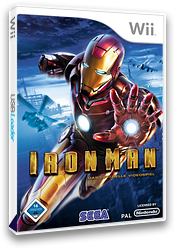 Iron Man: The Video Game Wii cover (RIRP8P)