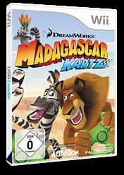 Madagascar Kartz Wii cover (RJHP52)