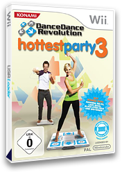 Dance Dance Revolution: Hottest Party 3 Wii cover (RJRPA4)