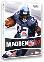 Madden NFL 07 Wii cover (RMDP69)