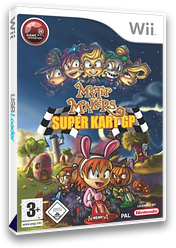 Myth Makers: Super Kart GP Wii cover (RMYPUG)