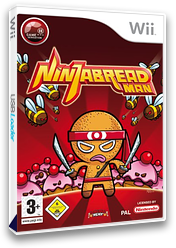 Ninjabread Man Wii cover (RNMXUG)