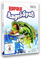 Rapala: Angel-Spaß Wii cover (ROJP52)