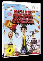 Wolkig Mit Aussicht Auf Fleischbällchen: Das Videospiel Wii cover (ROYP41)