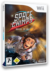Space Chimps: Affen Im All Wii cover (RP9XRS)