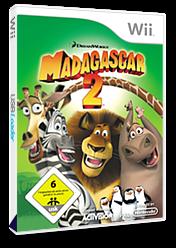 Madagascar 2 Wii cover (RRGP52)