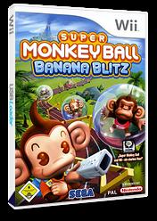Super Monkey Ball: Banana Blitz Wii cover (RSMP8P)