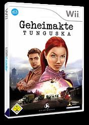 Geheimakte: Tunguska Wii cover (RTUFKM)