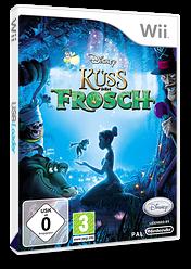 Küss den Frosch Wii cover (RU5P4Q)