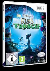 Küss den Frosch Wii cover (RU5X4Q)