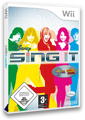 Disney: Sing It Wii cover (RUIX4Q)
