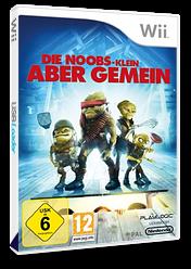 Die Noobs - Klein aber Gemein Wii cover (RUOPPL)