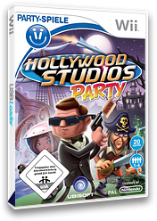 Hollywood Studio Party Wii cover (RVQP41)