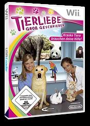 Tierliebe Groß Geschrieben Wii cover (RVTXMR)