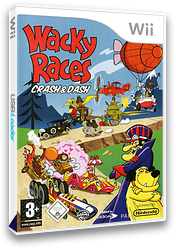 Wacky Races: Crash & Dash Wii cover (RWRP4F)