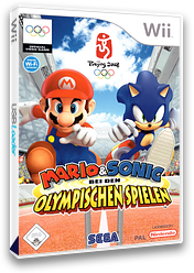 Mario & Sonic bei den Olympischen Spielen Wii cover (RWSP8P)