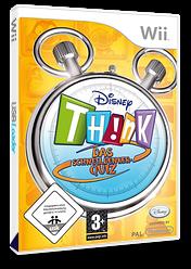 Disney Th!nk: Schnelldenkerquiz Wii cover (RXDX4Q)