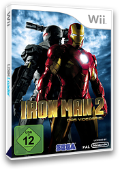 Iron Man 2 Wii cover (S2IP8P)