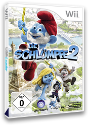 Die Schlümpfe 2 Wii cover (S2XP41)
