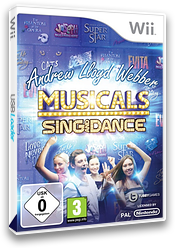 Andrew Lloyd Webber Musicals: Sing and Dance Wii cover (S3LPY1)