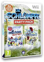 Die Schlümpfe Party Pack Wii cover (S7SP41)