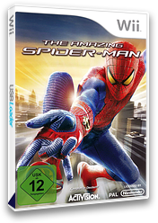 The Amazing Spider-Man Wii cover (SA8P52)