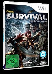 Cabela's Survival: Shadows of Katmai Wii cover (SAJP52)