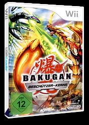 Bakugan Battle Brawlers: Beschützer des Kerns Wii cover (SB6P52)