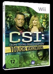 CSI:Tödliche Verschwörung Wii cover (SCIP41)